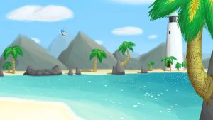 The Emerald Coast by lazy-face