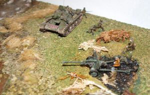 Battle of the River 1943 Diorama by rihosk