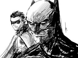 Batman and Robin by Archonyto