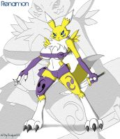 ...:Renamon:... by Reagan700