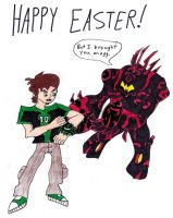 A Ben 10 Easter by Sonic-Psych