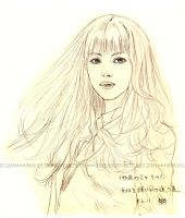 You Are My Wind-sketch by moyan