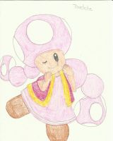Toadette from Mario by suzuka11