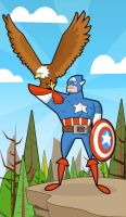 The first Avenger by kungfumonkey