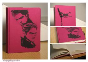 Dante/Vergil Notebook by thesimplyLexi