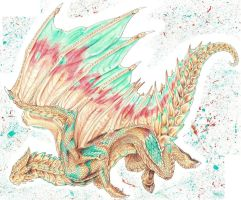 Copper Dragon by Silerenth