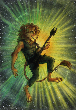 Art by Amaryllex: Heavy Metal Universe by AudeS