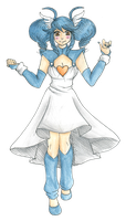 Knightiina the Shiny Gardevoir by CandySkitty