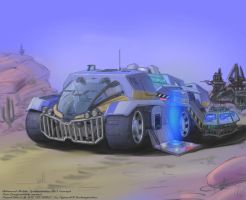 PlanetSide 2 Advanced Mobile Station Mk.3 (NC) by hansime