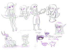 Ivela sketches by OOT-Link