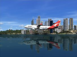 Harbour Area Promo Flight 2 by flightlevel-380