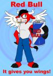Red Bull by Shinigami-Ziggy