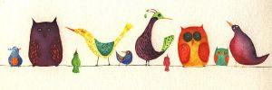 funny birds by Neyrelle