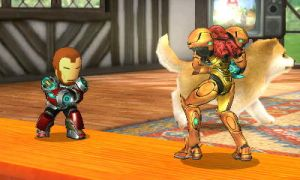 Iron Man Hovers Into Battle! by TheWolfBunny