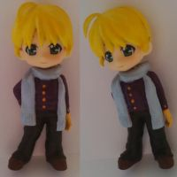 Custom Nendoroid - HGOC - Vincent Belli by Shakahnna
