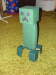 Cardboard Creeper by DarkfireTaimatsu
