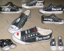 The Used :: Papa Roach : Shoes by bloody-poet