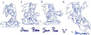 Rider Sonic Sketches by 7marichan7
