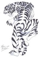 White Tiger by aidan8500