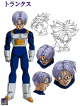 Trunks .:Lineart47:. Color by PrinzVegeta