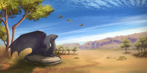 Australian plains by TheBlack-Arrow