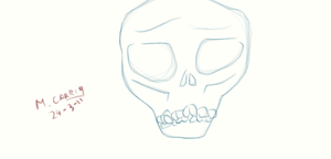 Simple Skull by Mark22792