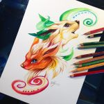 Flareon and Leafeon by Lucky978