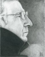 Alan Rickman by Kleolanda