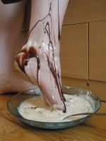 Foot Sundae - Chocolate by Yes-Mistress--Please