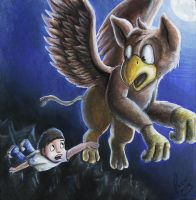 the flight of the gryphon by pandapaco