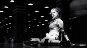 Rikku, ACen 2010 Black and White by N1k0nSh00ter