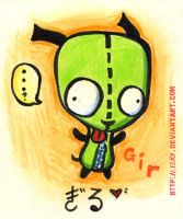 Invader Zim -- GIR. Adorable. by Isay