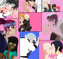 Bleach Couples Collab (poisonraven5) by poisonraven5