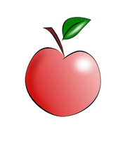 Apple SVG by billps