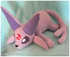 Espeon Plush by Allyson-x