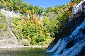 Ithaca in the Fall stock 031 by FairieGoodMother