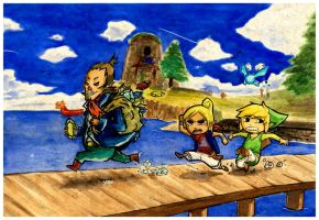 Toon LoZ Collab by Takiusa