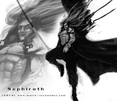 Sephiroth 01c by mariofernandes