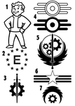 Fallout Shapes by Tensen01
