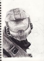Master Chief WIP 3 by DarkCalamity