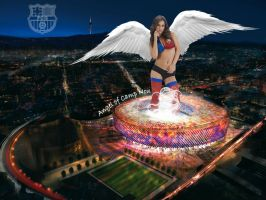 Angel of Camp Nou by Lord-Iluvatar