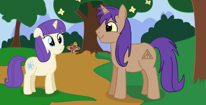 Me and Zhang Xi (2)[ponies] by lovelygirlmusicer