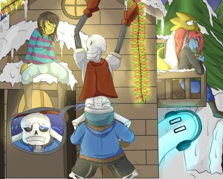 Undertale - A Few Years Later... by doodlebags