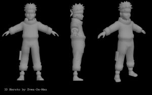 3D naruto model by svenstoffels