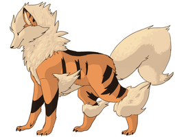 arcanine by SSpacely