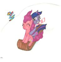 Two-Pony Open Sleigh by Himawari-chan