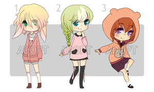 Adoptables Set #1 [1/3 OPEN] by illiyah