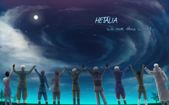 Hetalia ~ 'We own this World' [APH] by Casadee