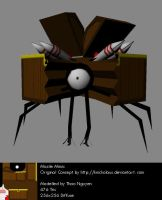 003: Missile Mimic 3D by Loucife