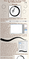 How to create an Enso Fish by AlanJunior